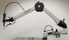 Pneumatický závitorez ROSCAMAT 500 VH E (vertikal/horizontal)