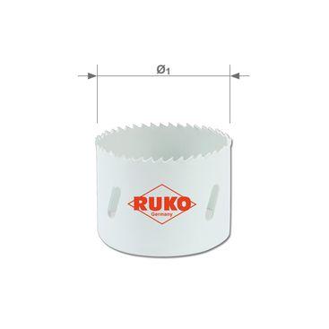 Bimetalová vykružovacia píla HSSE-Co8 s jemným ozubením