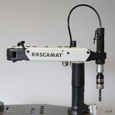 Pneumatický závitorez ROSCAMAT 400 V (vertikal)