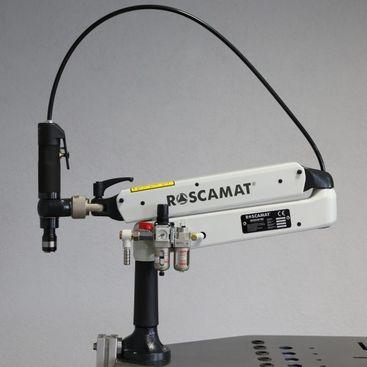 Pneumatický závitorez ROSCAMAT 200 VH 350 (vertikal/horizontal)