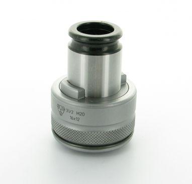 Rýchlovymeniteľná vložka s momentovou spojkou veľkosť 31/2 norma DIN