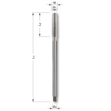 Maticový závitník M DIN 357, HSS, brúsený